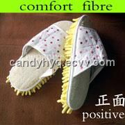 popular in Europ for loofah slipper (0411-02) - China loofah, magical loofah