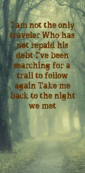 Lord huron is decimate in my top 5 folk/indie bands. Their lyrics always seem to speak to me lol
