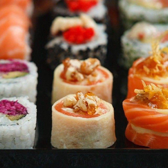 Light ma con gusto... #sushi #sashimi #goog #Qriosando