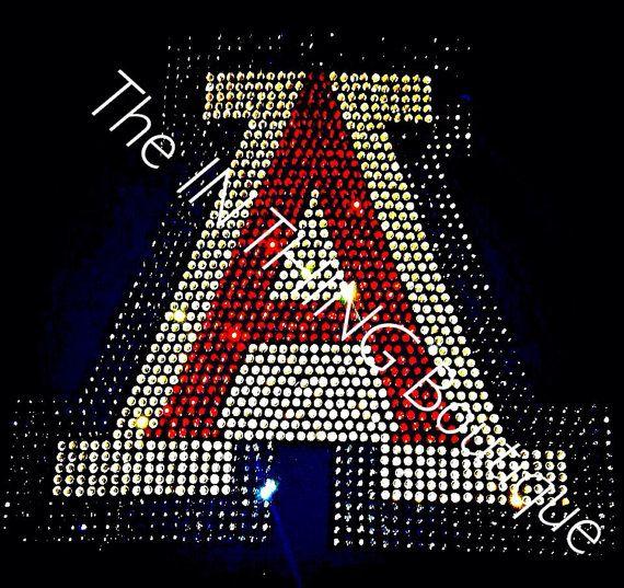 University Of AZ Arizona A Wildcats by TheInThingBoutique on Etsy
