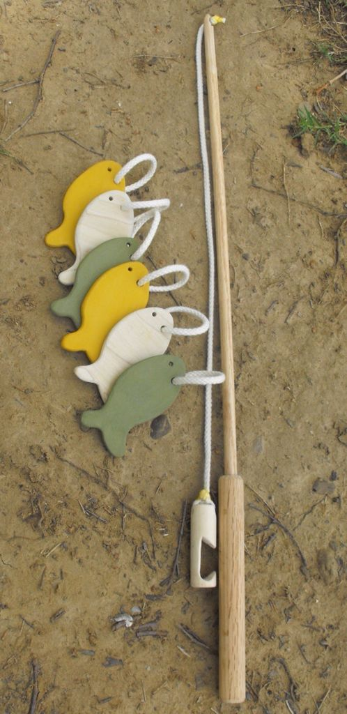 Pesca - juguetes de madera
