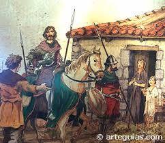 10 – Había pasado la muy oscura Edad Media alta (siglos V al X) y comenzaba un nuevo periodo – solo un poco mejor – llamada la baja Edad Media o el feudalismo entre los siglos (XI al XV)