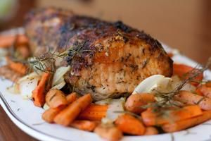 Roasted pork loin - Lacy Rane / Getty Images