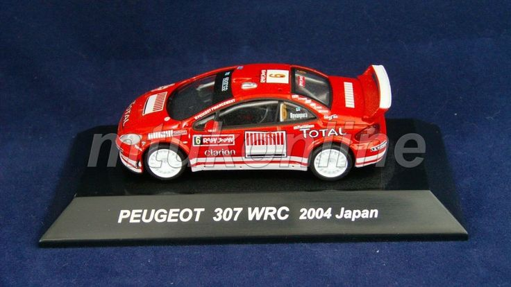 CM'S RALLY CAR COLLECTION | JAPAN | PEUGEOT 307 WRC 2005 | 1/64 | ROVANPERA