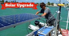 How do cruisers power their lights, refrigerator and everything else? Our choice is to use solar power to recharge our batteries. Here's what we chose and how we did the project.