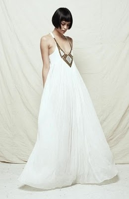 The Sass & bide Maxi Dress. Someone should get married in this.