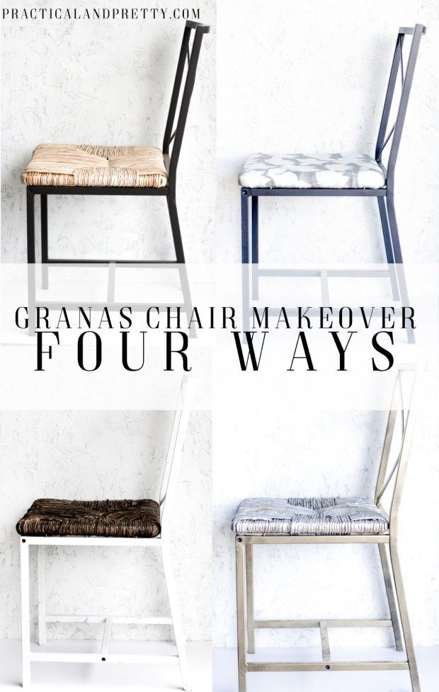 Groovy Ikea Granas Chair Makeover 4 Ways Crafts For Adults Diy Beutiful Home Inspiration Aditmahrainfo