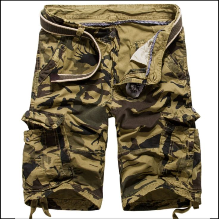 "Premium khaki casual camo cargo shorts. If you want one of these, comment #iwantthis and I will DM you with my  payment details and get your particulars also. The shorts are $49.95 AUD. Alternatively you can go directly to the website by going here ---> @soulkreedclothing and clicking the link in my bio Decoration: Pockets Fit Type: Loose Pant Style: Regular Style: ""European and American Style Waist Type: Mid Material: Cotton Length: Knee Length Closure Type: Button Fly.."