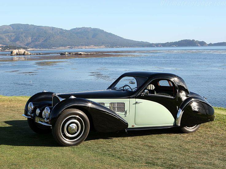 1936 Bugatti Type 57 S Gangloff Atalante.