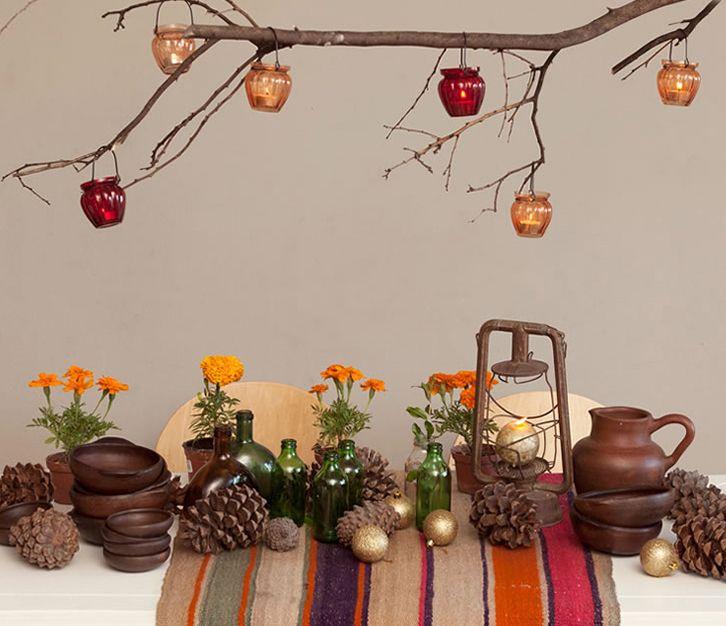 Proyectos de Decoración: MESA RÚSTICA fue para una campaña navideña de Falabella Chile. Visítame en www.javieramora.com o escríbeme a javieramora@gmail.com #diseno #arte #decoracion #mesa #rustico #greda