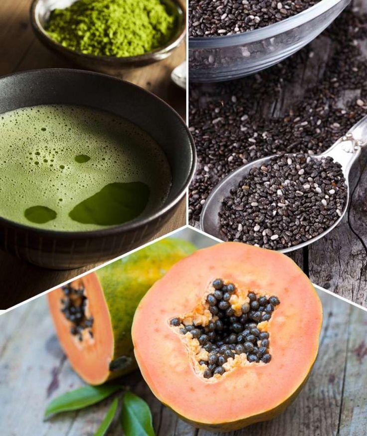 SCHLANK OHNE SPORT 10 Superfoods, mit denen Sie abnehmen