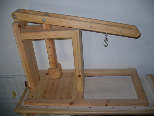 dutch cheese press for the goat milk