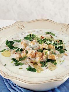 Soğuk ayran çorbası Tarifi - Türk Mutfağı Yemekleri - Yemek Tarifleri