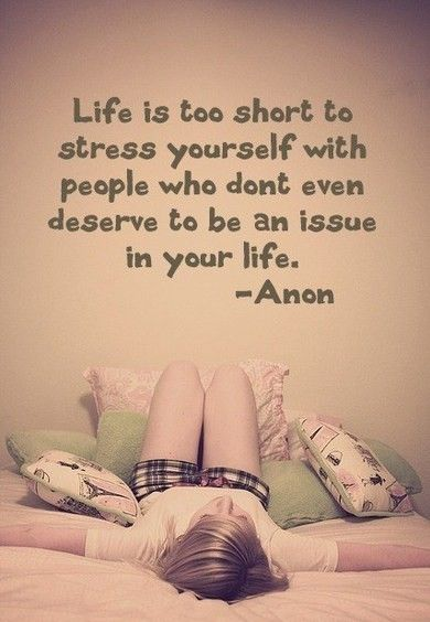 On letting go...