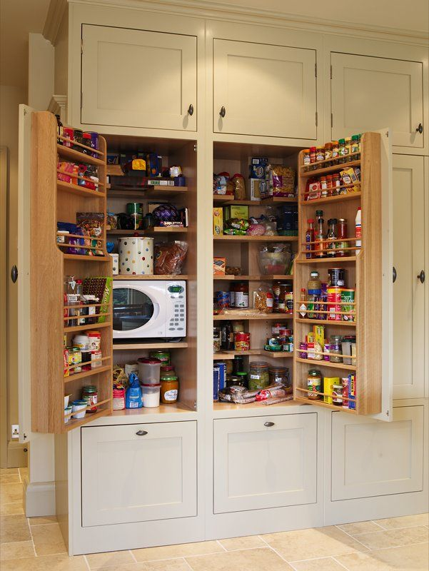 storage ideas for kitchen cupboards larders amp pantry cabinets built in or freestanding 8373