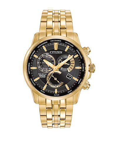 Citizen Calibre 8700 Stainless Steel Watch, BL8142-50E Men's Gold