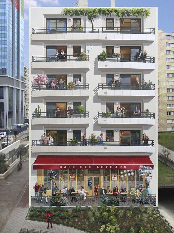 81 best trompe-l\u0027oeil images on Pinterest 3d street art, Urban art