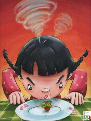 A menina que não gostava de fruta .Adaptada com símbolos e com ativid…