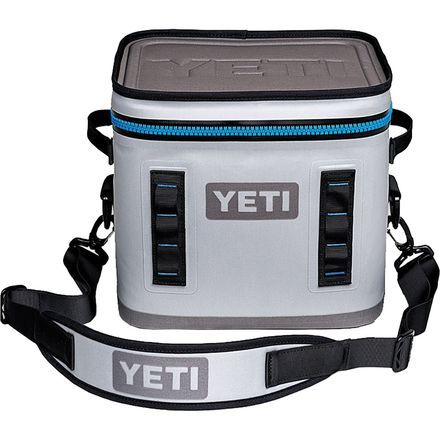 The Yeti Hopper Flip 12 may be small, but it maintains the robust durability and legendary ice-retaining capabilities of a proper Yeti cooler. Being the most compact option in the Hopper line, the Flip 12 is ideal for days on the river, afternoons at the crag, and evenings spent enjoying the sunset from a secluded vantage point with an ice-cold beverage in hand.