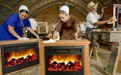 Amish Fireplace Amish Miracle Heater Is Anything But : Treehugger