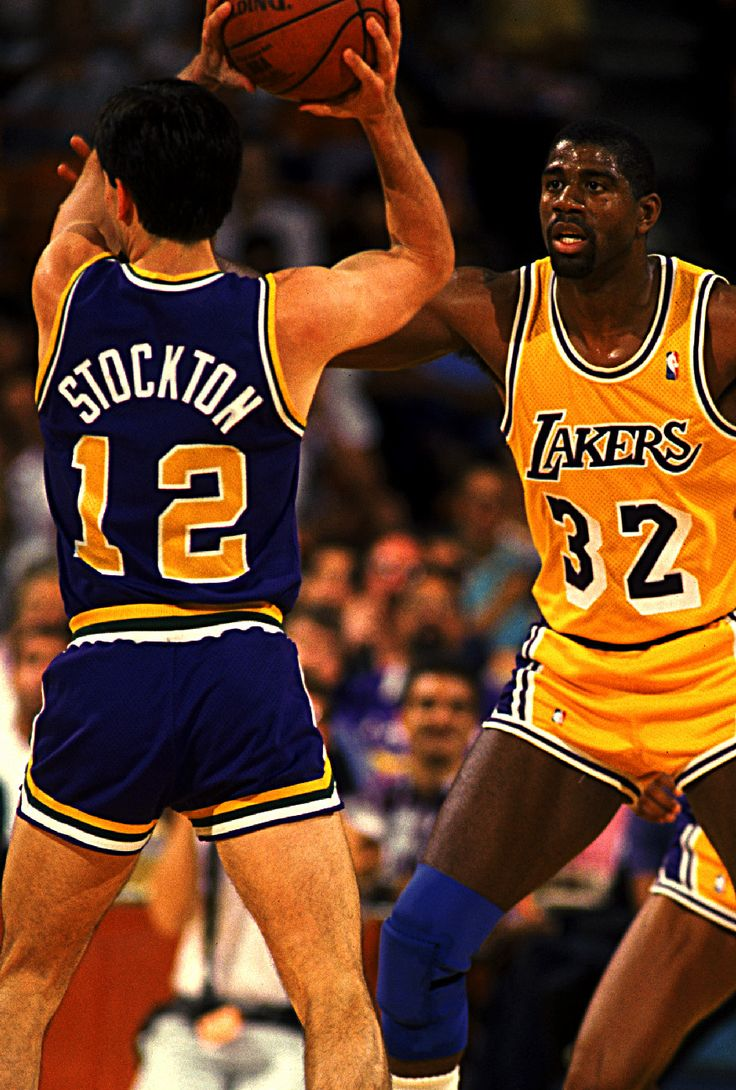 John Stockton & Magic Johnson