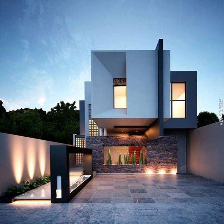 Moderne einfahrten einfamilienhaus  355 besten Einfahrt und Vorgarten Bilder auf Pinterest ...