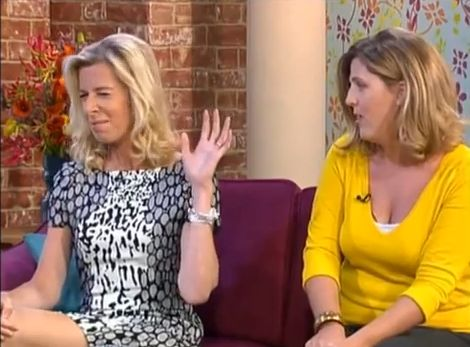 Katie Hopkins Calls Netmums A 'Mammary Militia' On ITV Show This Morning #ItsLikeBeingShoutedAtByALemon