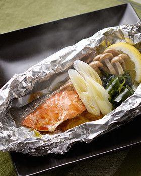 簡単!秋鮭のホイル焼き by 北海道ぎょれん [クックパッド] 簡単おいしいみんなのレシピが249万品