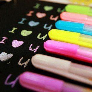 Watercolor Chalk Gel pen Set for Photo Scrabooking album, http://www.amazon.com/dp/B00KD0KQLA/ref=cm_sw_r_pi_awdm_Nu8.tb1ZF8RCS