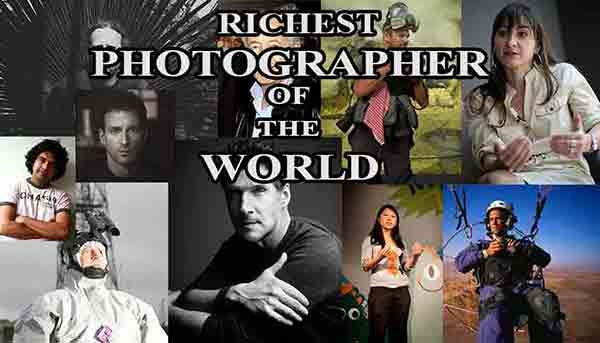 Top 10 richest photographer in the world