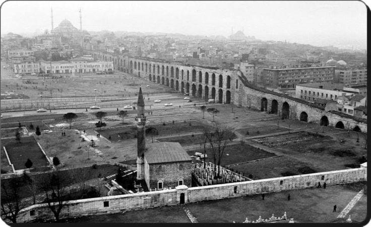 Saraçhane / Bozdoğan (Valens) kemeri - 1966