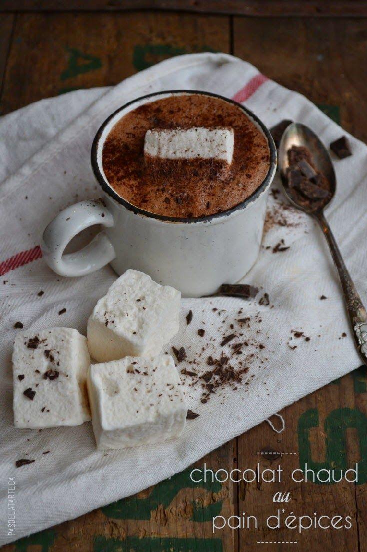 Decadent Homemade Gingerbread Hot Cocoa | Chocolat Chaud Décadent au Pain d'Épices  — PasDeLaTarte.Ca