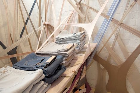 Arnsdorf temporary concept store by Edwards Moore