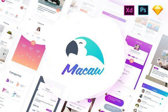 Macaw UI Kit - Web Elements