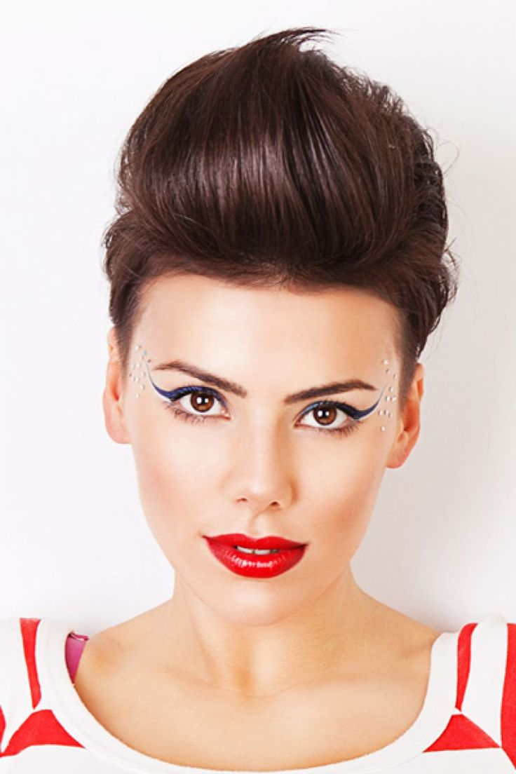 Hairstyles with quiff - Daring Women Short Quiff Hairstyles To Make A Statement