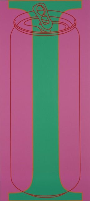 Michael Craig-Martin, I is for Can, 2007