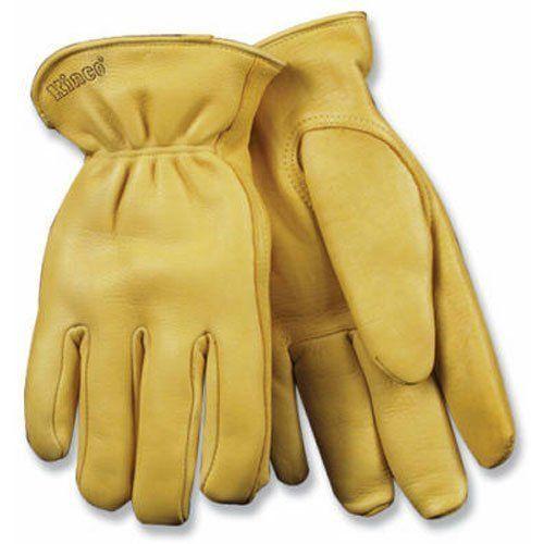 Kinco Mens LINED DEERSKIN Leather Driver Work Gloves 90HK Cold Winter #Kinco #DrivingGloves