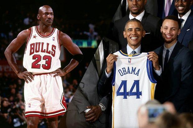 Obama pone a Stephen Curry a la altura de Michael Jordan