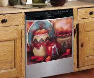 Price $16.25            Southwest Dishwasher Cover  Give any dishwasher a custom decorator look with this Southwestern still life. Its magnetized so i...