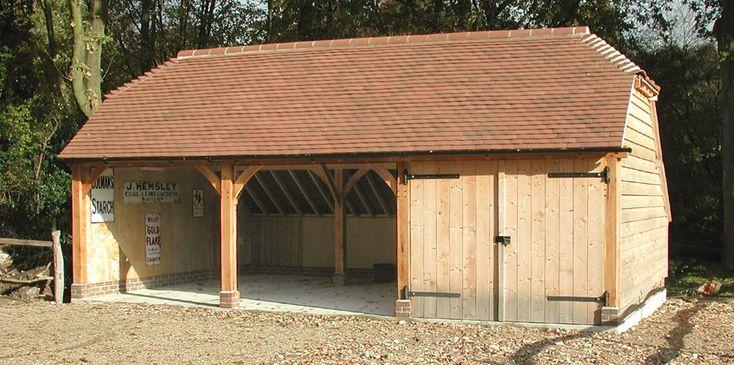 354 best garage images on pinterest exterior homes for Garage building companies