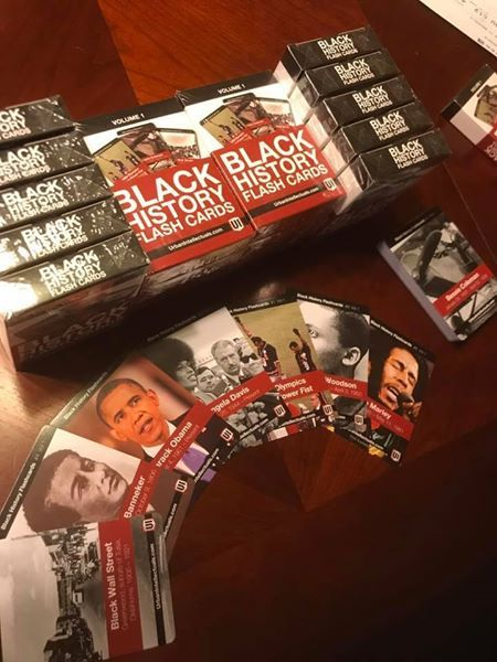Black History Flashcards, Vol 1 – Pre-Order   Urban Intellectuals Store