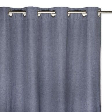 Textured Lined Curtain