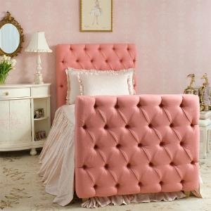 OH MY GOD. i love this more than cheese.Little Girls Room, Kids Room, Twin Beds, Pink, Bedrooms, Upholstered Headboards, Big Girls, Girl Rooms, Upholstered Beds