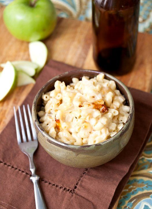 Hard Cider Mac & Cheese by @Laura Jayson Jayson Jayson (Tide and Thyme)