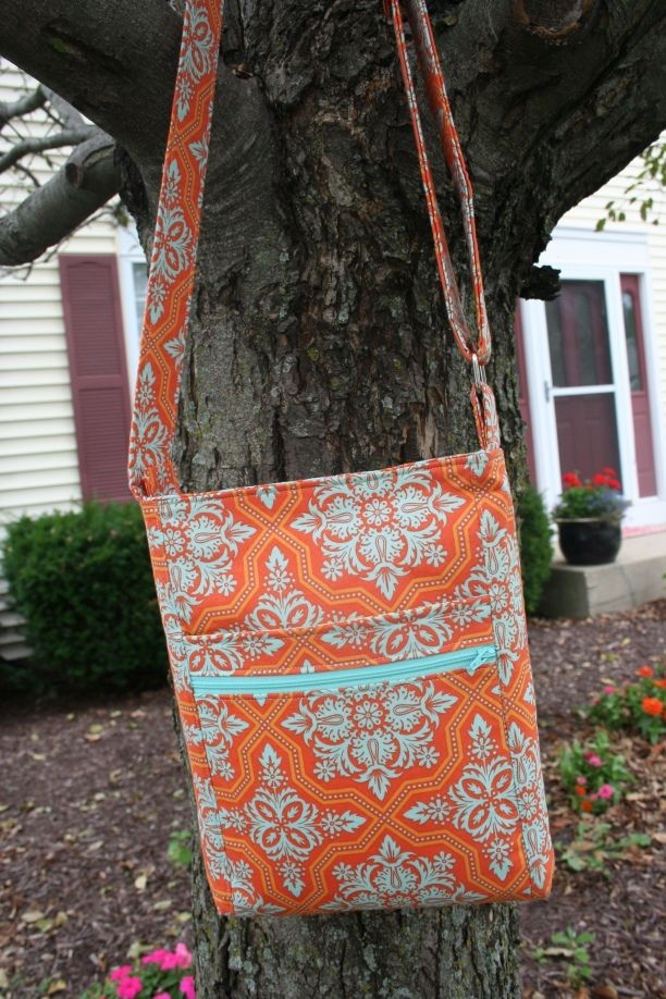 2 zip hipster bag pattern for sale