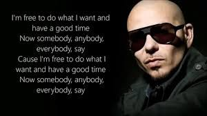 Image result for freedom pitbull lyrics