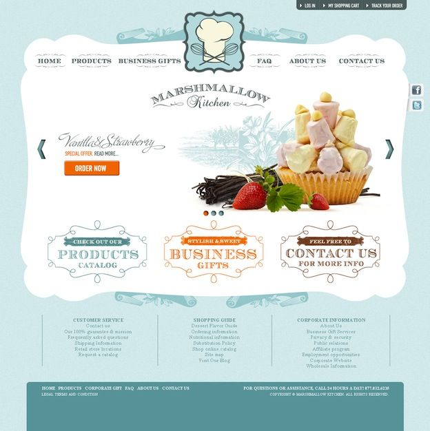 21 amazing web designs from different industries