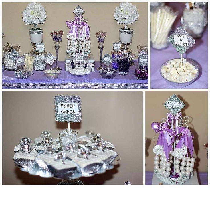 Pearls Theme Diamonds And Cake