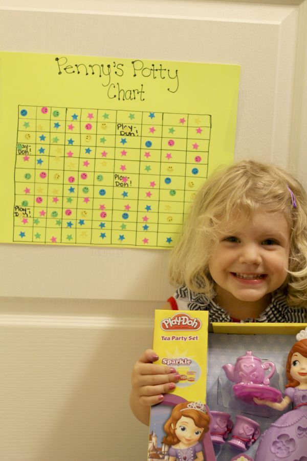 How to make an easy potty training chart. This post also has great tips on getting your child motivated and taking ownership of the potty training process!