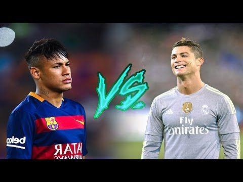 Cristiano Ronaldo vs Lionel Messi - Epic Battle 2016   HD - YouTube